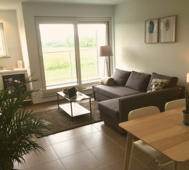Furnished business apartment for short- & long-term rental in Ghent, Belgium