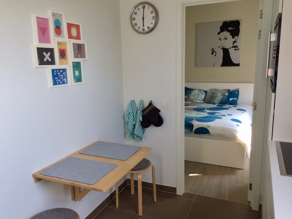 Furnished 2 person flat for short- & long-term rental in Ghent, Belgium